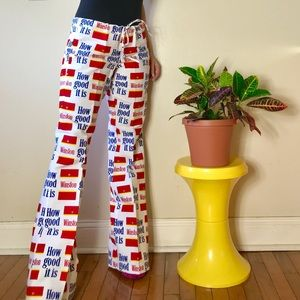 Deadstock vintage 70s Winston low rise flares XS